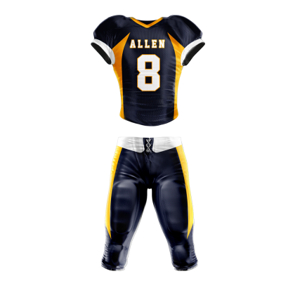Football Uniform Sublimated 502