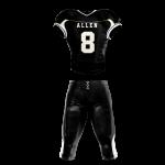 Football Uniform Sublimated 505