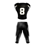 Football Uniform Sublimated 505 Back