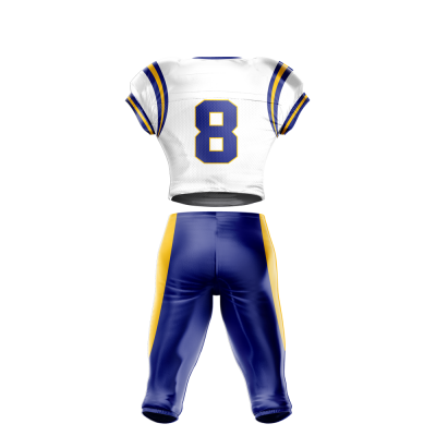 Football Uniform Sublimated 506 Back