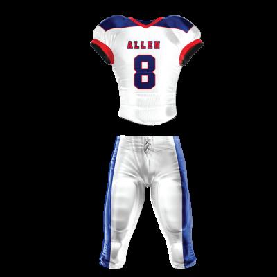 Football Uniform Sublimated 514