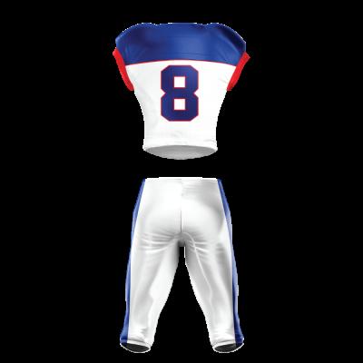 Football Uniform Sublimated 514 Back