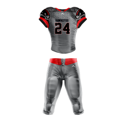 Football Uniform Sublimated Hawkeyes
