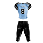 Football Uniform Sublimated Pearl