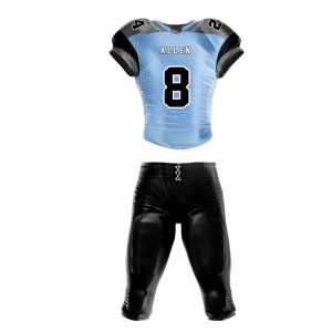 Image for Football Uniform Sublimated Pearl