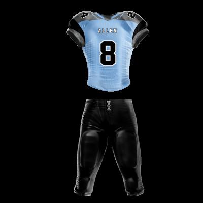 Football Uniform Sublimated Pearl