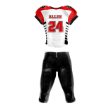 Football Uniform Sublimated Tiger
