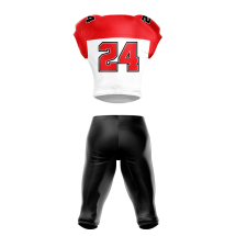 Football Uniform Sublimated Tiger Back