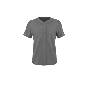 Image for Full Button Cut Sew Baseball Jersey