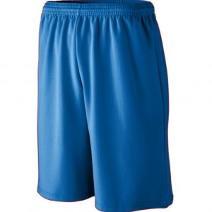 Image for LONGER LENGTH WICKING MESH ATHLETIC SHORTS