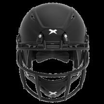 Matte black helmet shell, black facemask XRS  2 1S