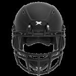Matte black helmet shell, black facemask XRS  2 2S
