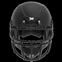 Matte black helmet shell, black facemask XRS  2 2X
