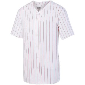 Image for PINSTRIPE FULL BUTTON JERSEY