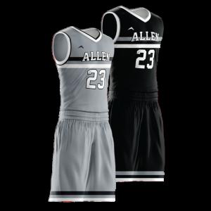 Image for Reversible Basketball Uniform Sublimated 278