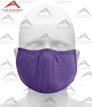 SHAPED FACE MASK HEATHER PURPLE