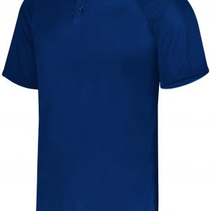Image for YOUTH ATTAIN WICKING TWO-BUTTON BASEBALL JERSEY