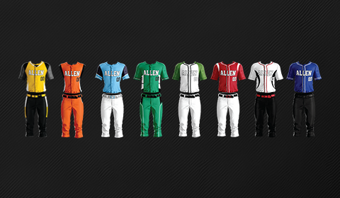 Team Sports Uniforms | Allen Sportswear Custom Team Packages