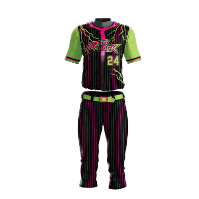 Custom Sublimated Baseball Uniform AFTERSHOCK