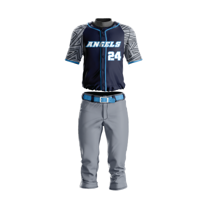 Custom Sublimated Baseball Uniform ANGELS