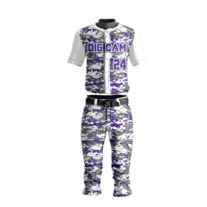 Image for Baseball Uniform Sublimated Digicamo