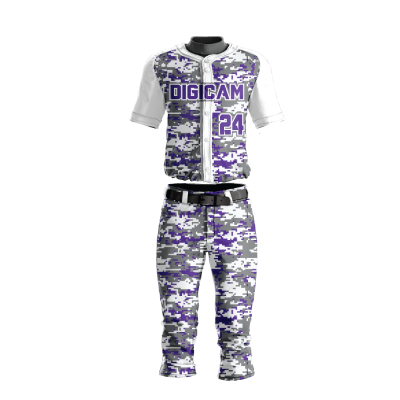 Custom Sublimated Baseball Uniform DIGICAMO