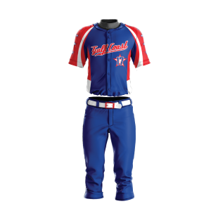 Image for Baseball Uniform Sublimated Gulf