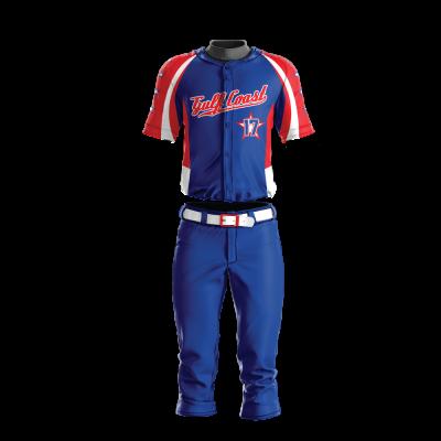 Custom Sublimated Baseball Uniform GULF