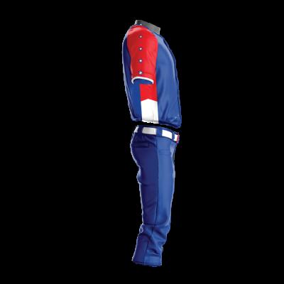 Custom Sublimated Baseball Uniform GULF-side view