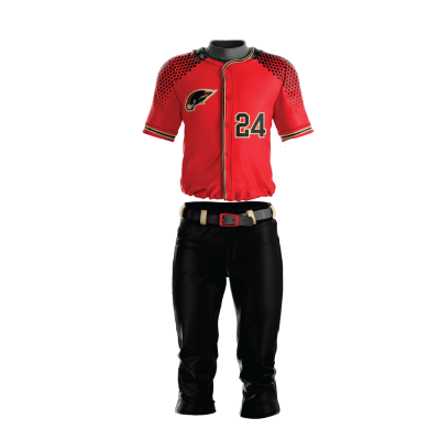 BASEBALL UNIFORM SUBLIMATED HAWK
