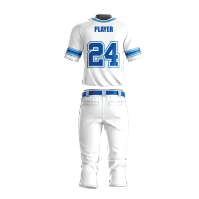 Custom Sublimated Baseball Uniform PHOENIX-back view