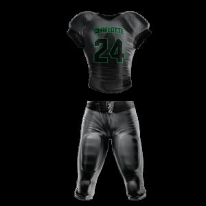 Image for Football Uniform Sublimated Charlotte