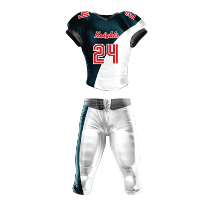 Custom Sublimated Football Uniform KNIGHTS