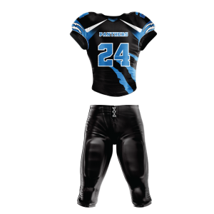 Image for Football Uniform Sublimated Panthers