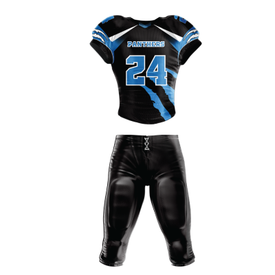 FOOTBALL UNIFORM SUBLIMATED PANTHERS