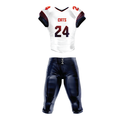 FOOTBALL UNIFORM SUBLIMATED PARALLEL