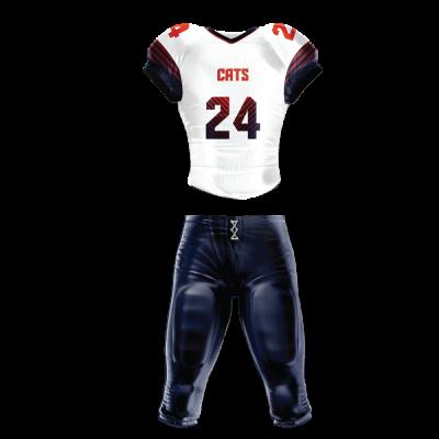 Custom Sublimated Football Uniform PARALLEL