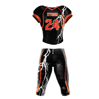 Custom Sublimated Football Uniform STORM