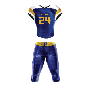 Image for Football Uniform Sublimated WolfPack