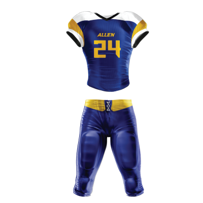 Custom Sublimated Football Uniform WOLFPACK