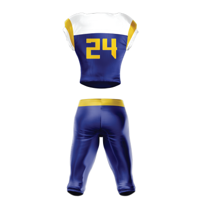 FOOTBALL UNIFORM SUBLIMATED WOLFPACK BACK