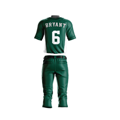 Custom Sublimated Baseball Uniform 200-back view
