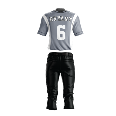 Custom Sublimated Baseball Uniform 201-back view