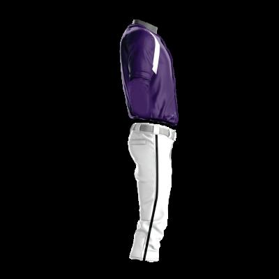 Custom Sublimated Baseball Uniform 202-side view