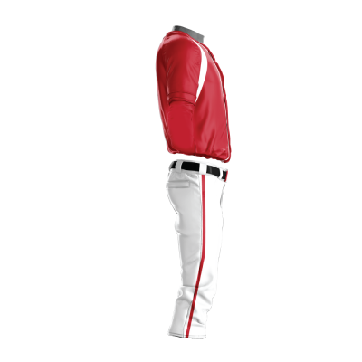 Custom Baseball Uniform Pro Tackle Twill or Sewn On 204-side view