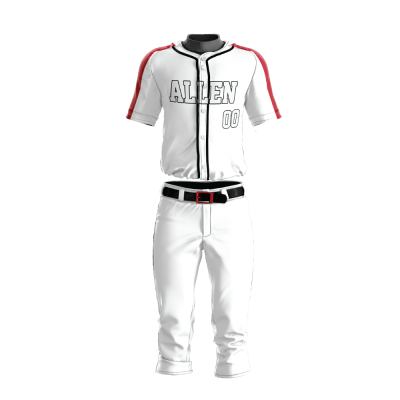 Custom Baseball Uniform Pro Tackle Twill or Sewn On 205