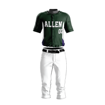 Custom Baseball Uniform Pro Tackle Twill or Sewn On 207