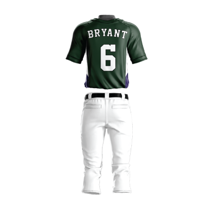 BASEBALL UNIFORM PRO 207 BACK