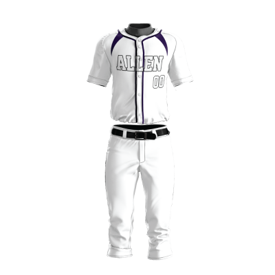 Custom Baseball Uniform Pro Tackle Twill or Sewn On 208