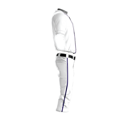 Custom Baseball Uniform Pro Tackle Twill or Sewn On 208-side view